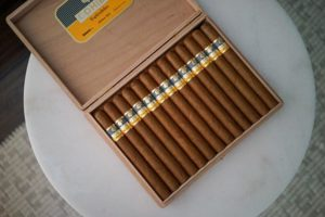 Cigars on Table